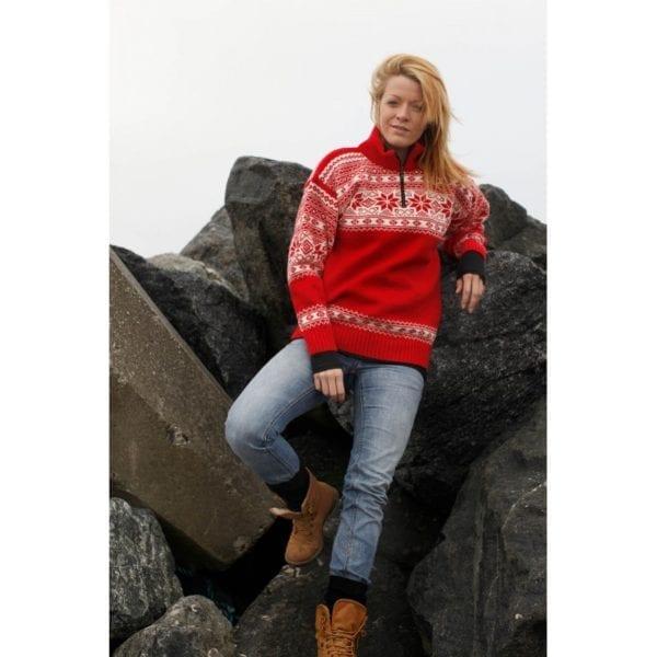 Fritidstøj Norsk Sweater fra Norwool