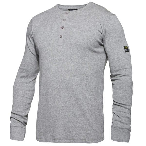 Arbejds T-Shirts F.Engel Standard Grandad L/S T-Shirt