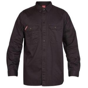 Arbejdsskjorter F.Engel Standard Bomuld Langærmet Skjorte