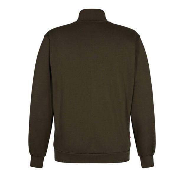 Arbejds Cardigan Sweatshirts F.Engel Standard Sweatshirt med Krave