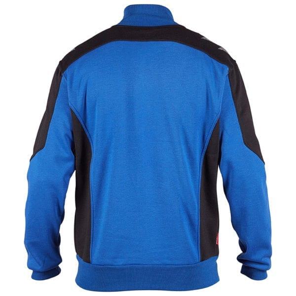 Arbejds Cardigan Sweatshirts F.Engel Galaxy Sweatcardigan med krave