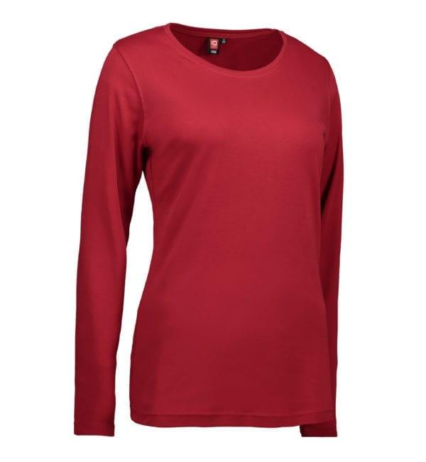 Interlock dame T-shirt|langærm