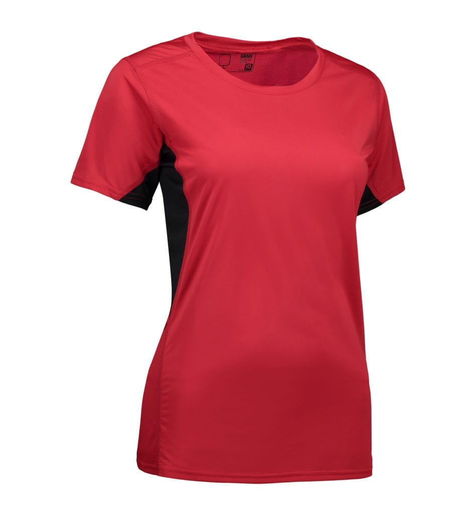 GAME Active dame T shirt| mesh Trin Ned Shop