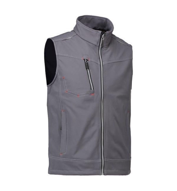 Worker softshell vest