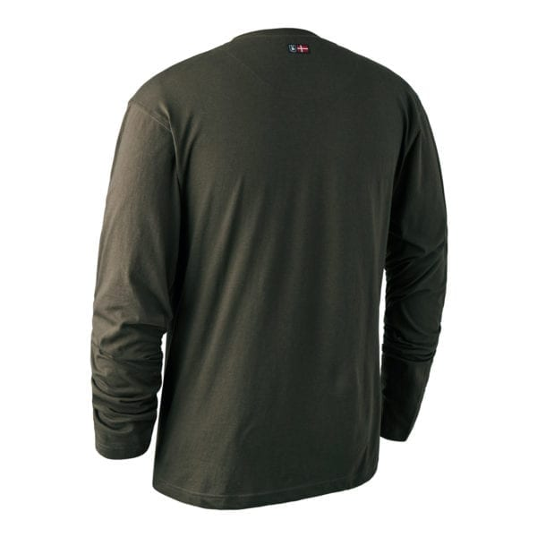 Fritidstøj Deerhunter Logo T-Shirt L/Æ