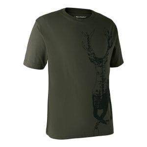 Fritidstøj T-Shirt Med Hjort