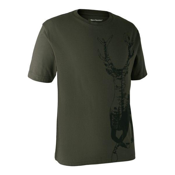 Fritidstøj Deerhunter T-Shirt Med Hjort