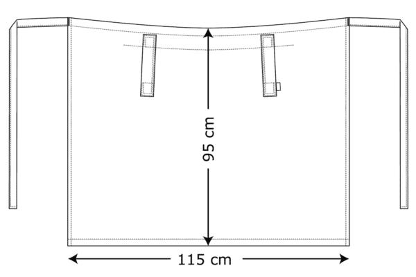 Forstykke Kentaur Tjenerforklæde