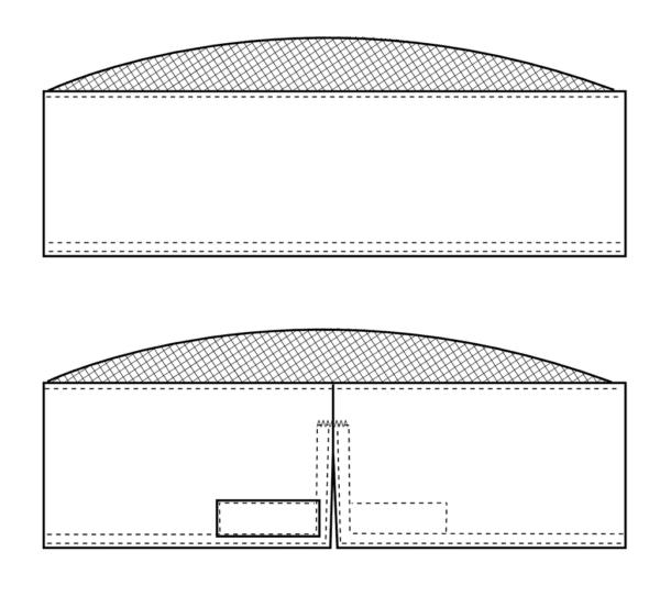 Forstykke Kentaur Kalot m. Net I Pulden