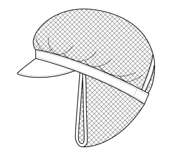 Arbejdstøj Kentaur Kasket med Net