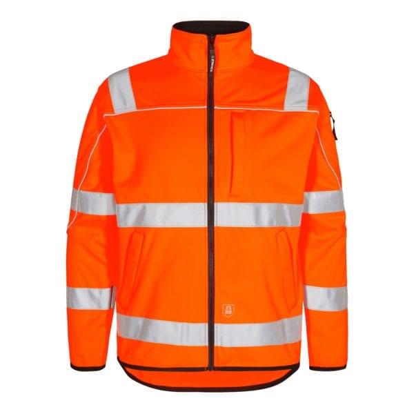 Arbejds overtøj F.Engel Safety EN ISO 20471 Softshelljakke