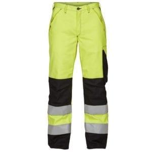 Arbejdsbukser Safety+ Lysbuebuks Kl. 2 ISO 20471