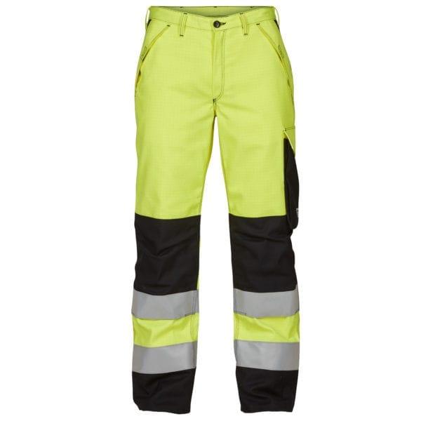 Arbejdsbukser F.Engel Safety+ Lysbuebuks Kl. 2 ISO 20471