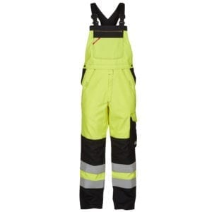 Arbejdsbukser F.Engel Safety+ Lysbueoverall Kl. 2 ISO 20471