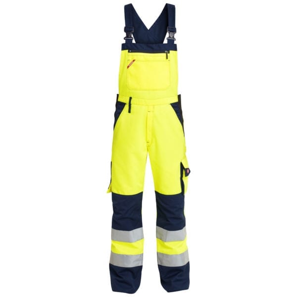 Arbejdsbukser F.Engel Safety EN ISO 20471 Light Overall Med Elastik