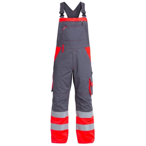 Arbejdsbukser F.Engel Safety EN ISO 20471 Overall med Elastik