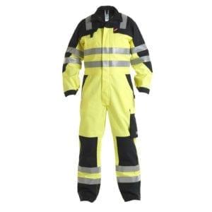 Arbejdsbukser Safety+ EN ISO 20471 Multinorm Kedeldragt