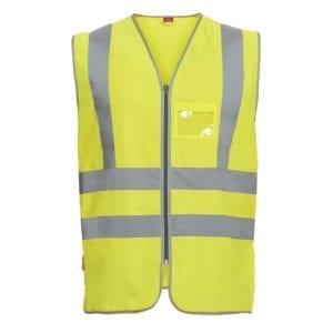arbejds termo jakker og veste Safety EN ISO 20471 Vejvest