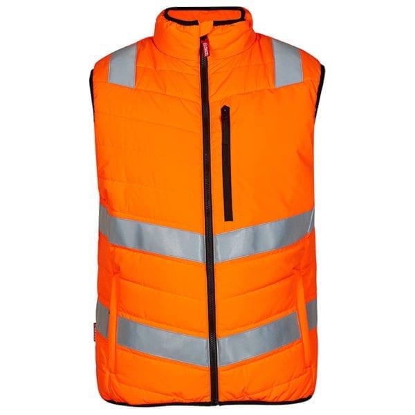 Arbejds overtøj F.Engel Safety EN ISO 20471 Quiltet Vest