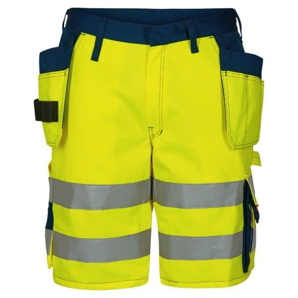 Arbejdsbukser F.Engel Safety EN ISO 20471 Shorts m. hængelommer