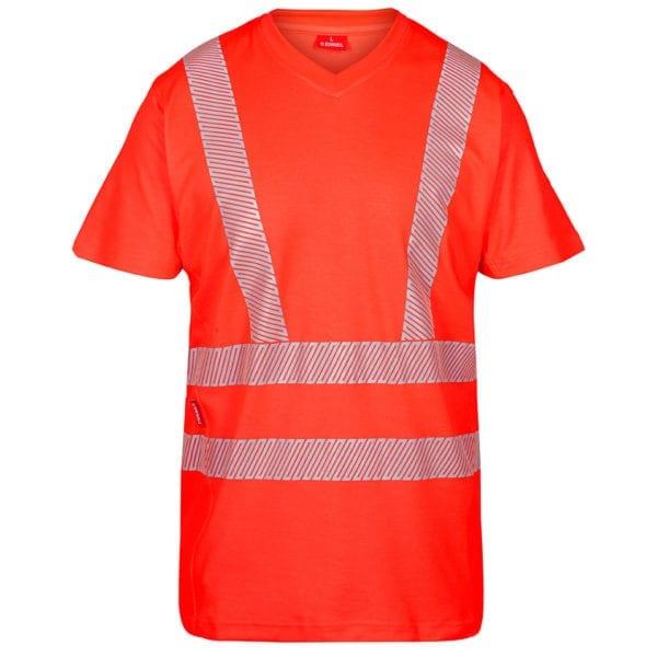 Arbejds T-Shirts F.Engel Safety EN ISO 20471 T-Shirt