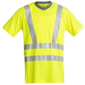 Arbejds T-Shirts F.Engel Safety EN ISO 20471 T-Shirt