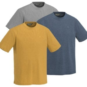 Fritidstøj T-SHIRT PINEWOOD® 3-PACK OUTDOOR